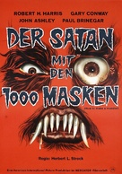 How to Make a Monster - German Movie Poster (xs thumbnail)