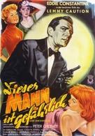 Cet homme est dangereux - German Movie Poster (xs thumbnail)