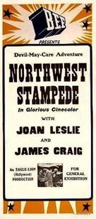 Northwest Stampede - Australian Movie Poster (xs thumbnail)