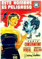 Cet homme est dangereux - Spanish Movie Poster (xs thumbnail)