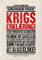 Kärlekens krigare - Danish Movie Poster (xs thumbnail)