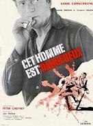 Cet homme est dangereux - French Movie Poster (xs thumbnail)