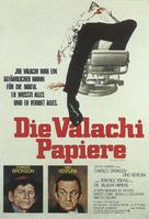 The Valachi Papers - German Movie Poster (xs thumbnail)