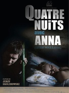 Cztery noce z Anna - French Movie Poster (xs thumbnail)