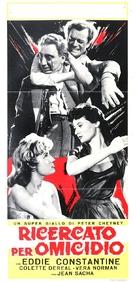 Cet homme est dangereux - Italian Movie Poster (xs thumbnail)