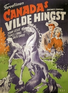 Northwest Stampede - Danish Movie Poster (xs thumbnail)