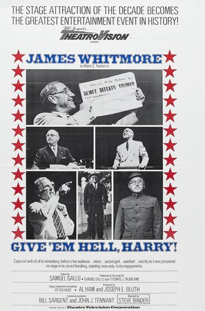 Give 'em Hell, Harry! - Movie Poster (thumbnail)