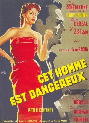 Cet homme est dangereux - French Movie Poster (thumbnail)