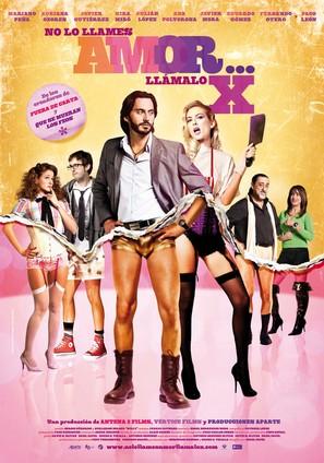 No lo llames amor... llámalo X - Spanish Movie Poster (thumbnail)