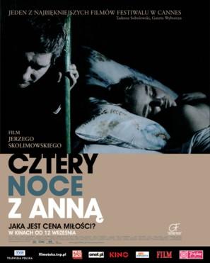 Cztery noce z Anna - Polish Movie Poster (thumbnail)