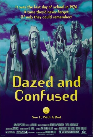 Dazed And Confused - Movie Poster