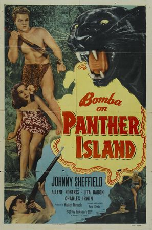 Bomba on Panther Island - Movie Poster (thumbnail)