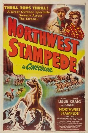 Northwest Stampede - Movie Poster (thumbnail)
