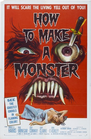 How to Make a Monster - Movie Poster (thumbnail)