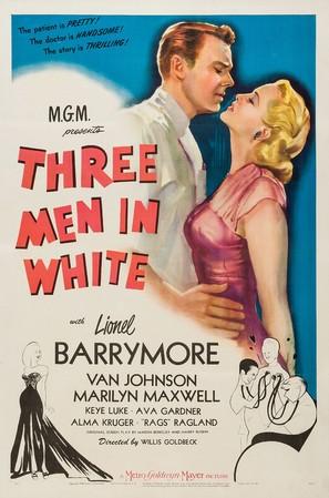 3 Men in White