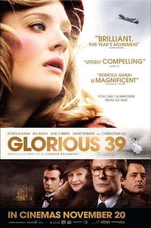 Glorious 39 - British Movie Poster (thumbnail)
