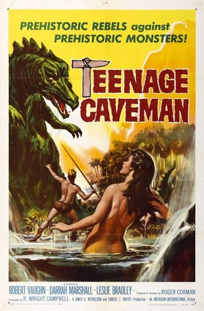 Teenage Cave Man