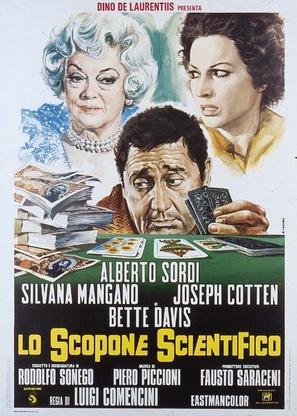 Lo scopone scientifico - Italian Movie Poster (thumbnail)
