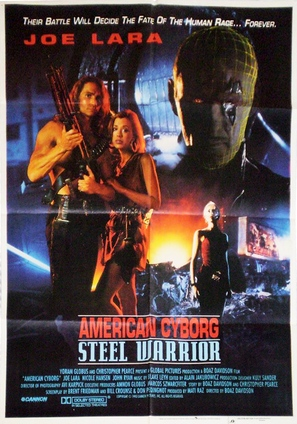 American Cyborg: Steel Warrior - Movie Poster (thumbnail)
