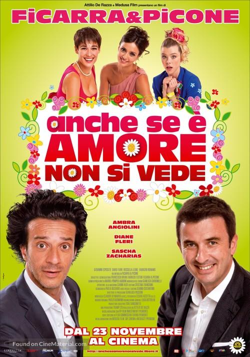 Anche se è Amore non si vede - Italian Movie Poster