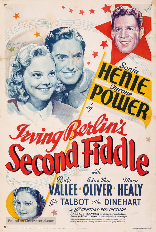 Second Fiddle - Movie Poster