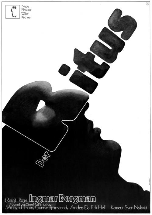 Riten - German Movie Poster