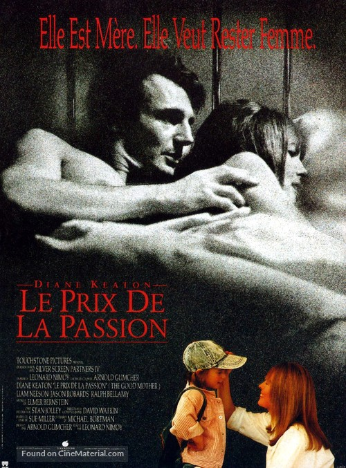 The Good Mother - French Movie Poster