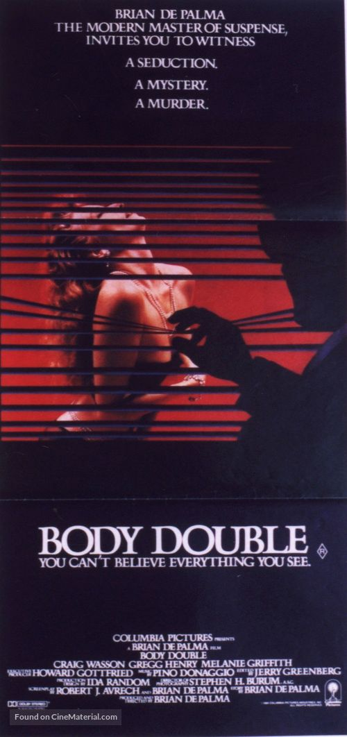 Body Double - Movie Poster