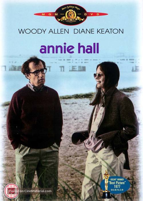 Annie Hall - Danish Movie Cover