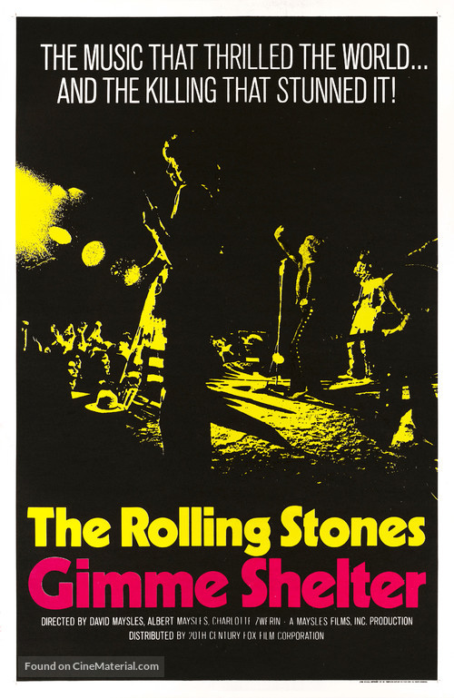 Gimme Shelter - Movie Poster
