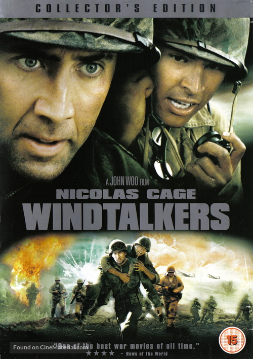 Windtalkers - British DVD movie cover