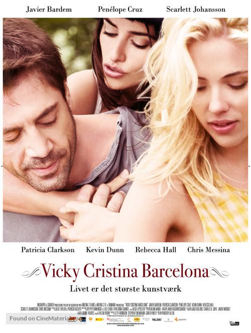 Vicky Cristina Barcelona   Danish Movie Poster