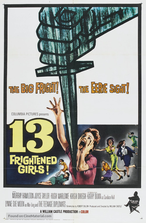 13 Frightened Girls - Movie Poster