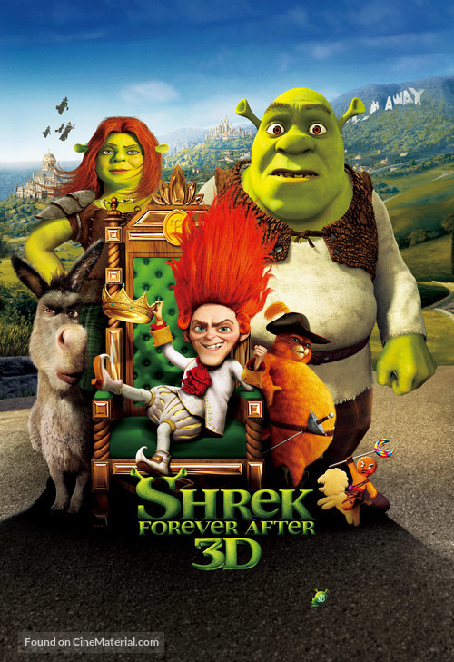Shrek Forever After - Movie Poster