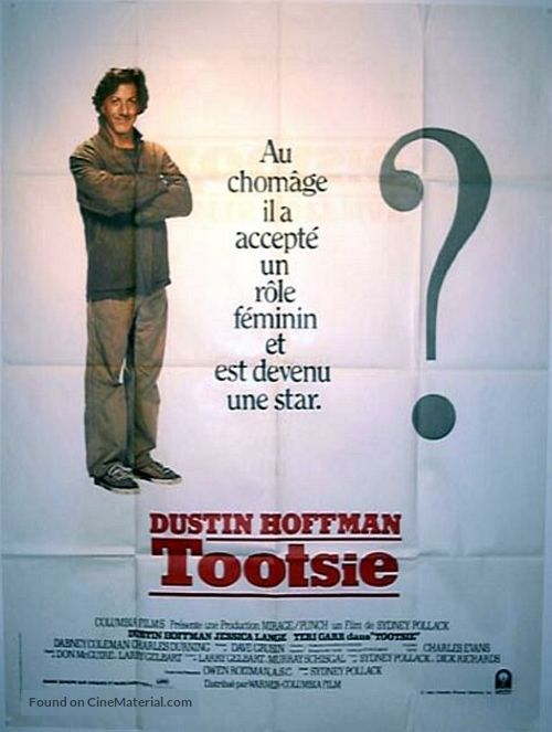 Tootsie - French Movie Poster