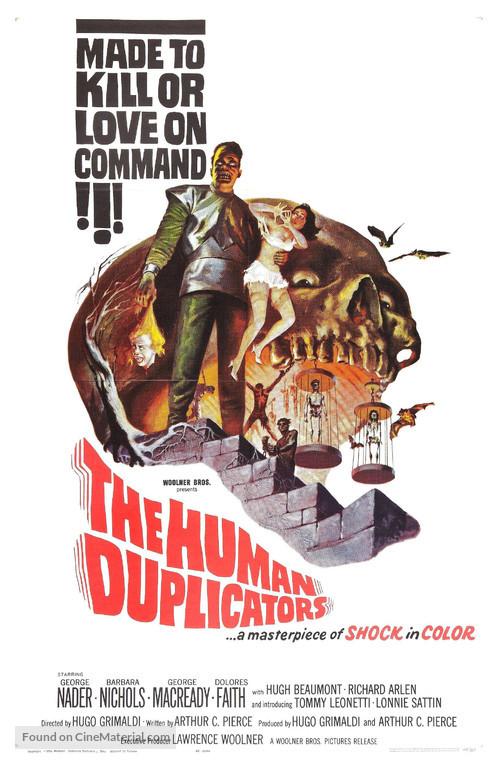 The Human Duplicators - Movie Poster