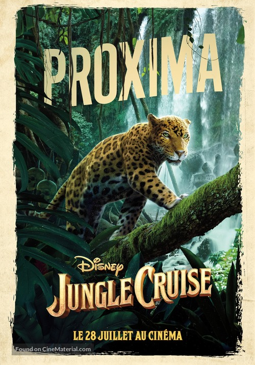 Jungle Cruise - French Movie Poster
