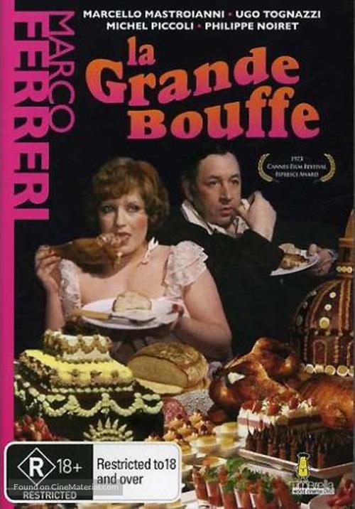La grande bouffe - Australian DVD movie cover