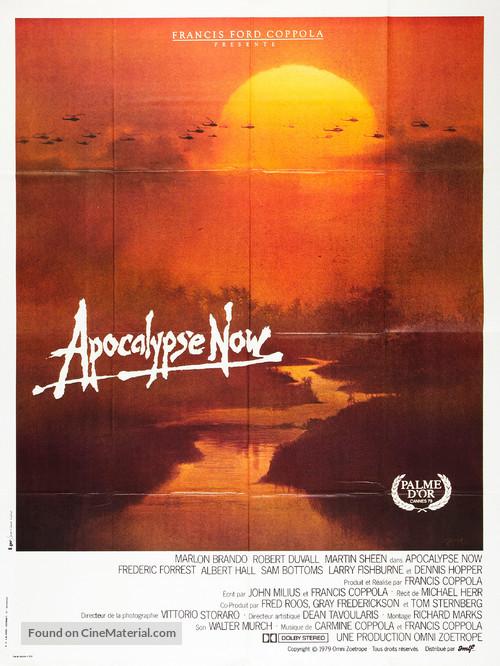 Apocalypse Now - French Movie Poster