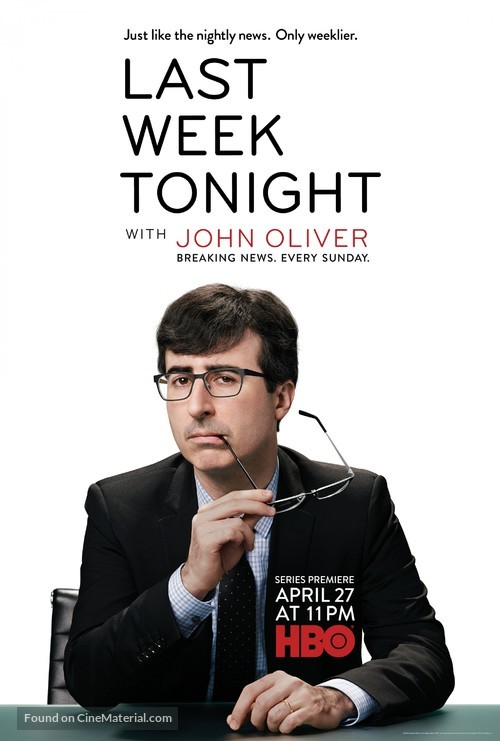 """""""Last Week Tonight with John Oliver"""" - Movie Poster"""