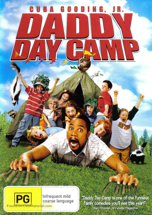 Daddy Day Camp - Australian DVD movie cover