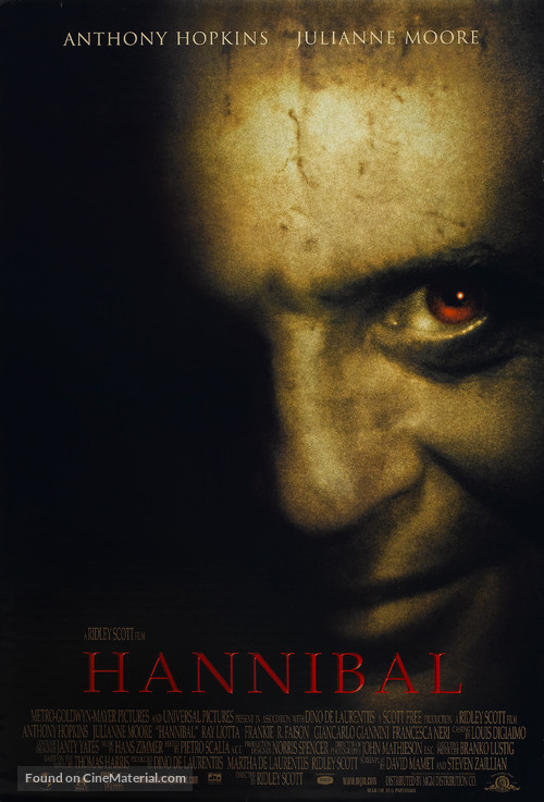 Hannibal - Movie Poster