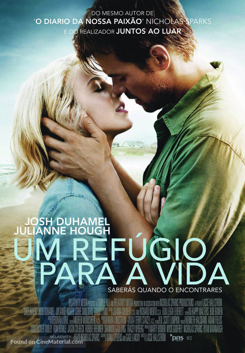 Safe Haven - Portuguese Movie Poster