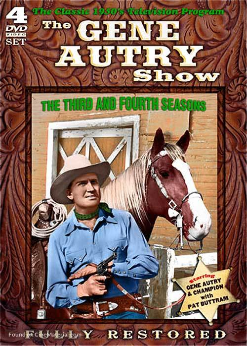 """""""The Gene Autry Show"""" - DVD cover"""