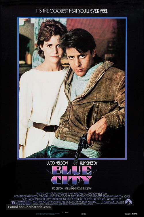Blue City - Movie Poster