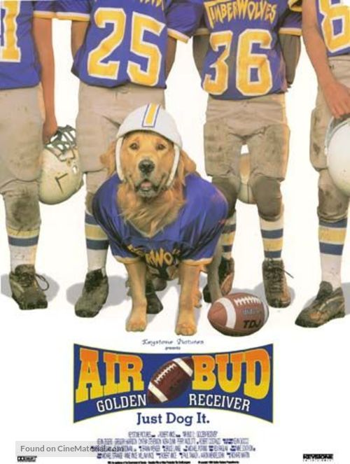 Air Bud: Golden Receiver - Movie Poster