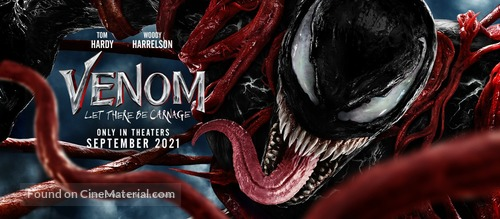 Venom: Let There Be Carnage - Movie Poster