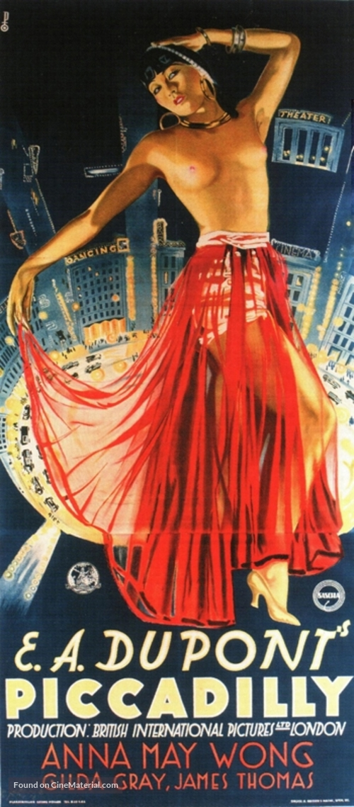Piccadilly - British Movie Poster