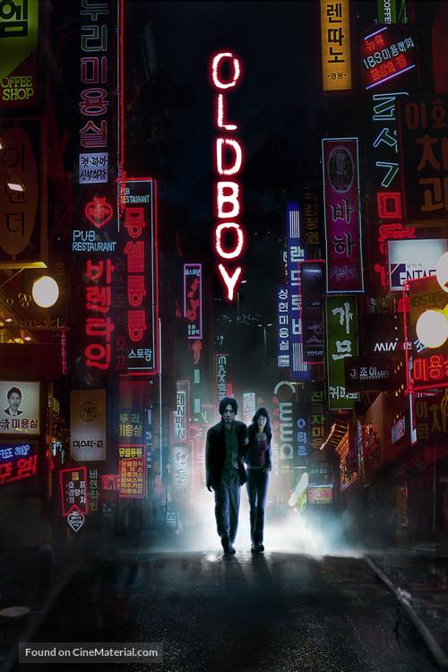 Oldboy - DVD movie cover