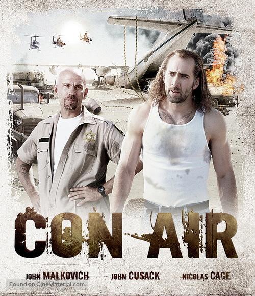 Con Air 1997 Movie Cover